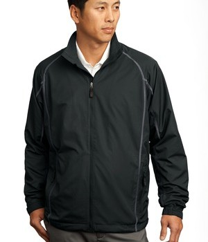 Nike Golf – Full-Zip Wind Jacket Style 408324 Black Anthracite