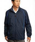 Nike Golf - Full-Zip Wind Jacket Style 408324 Navy Varsity Royal