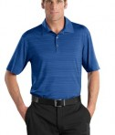 Nike Golf - Elite Series Dri-FIT Heather Fine Line Bonded Polo Style 429438 Deep Royal