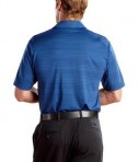 Nike Golf - Elite Series Dri-FIT Heather Fine Line Bonded Polo Style 429438 Deep Royal Back