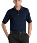 Nike Golf - Elite Series Dri-FIT Heather Fine Line Bonded Polo Style 429438 Navy
