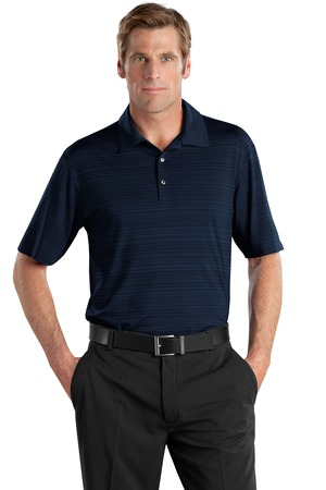Nike golf elite series dri fit heather fine line bonded for Business casual polo shirt