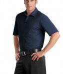 Nike Golf - Elite Series Dri-FIT Ottoman Bonded Polo Style 429439 Midnight Navy