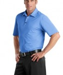 Nike Golf - Elite Series Dri-FIT Ottoman Bonded Polo Style 429439 Vibrant Blue