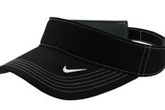 Nike Golf - Dri-FIT Swoosh Visor Style 429466 Black