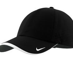 Nike Golf - Dri-FIT Swoosh Perforated Cap Style 429467 Black