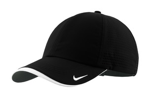 Nike Golf – Dri-FIT Swoosh Perforated Cap Style 429467 Black