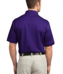 Nike Golf Dri-FIT Sport Swoosh Pique Polo Style 443119 Court Purple Back