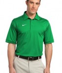 Nike Golf Dri-FIT Sport Swoosh Pique Polo Style 443119 Lucky Green