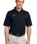 Nike Golf Dri-FIT Sport Swoosh Pique Polo Style 443119 Midnight Navy