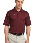 Nike Golf Dri-FIT Sport Swoosh Pique Polo Style 443119 Team Red