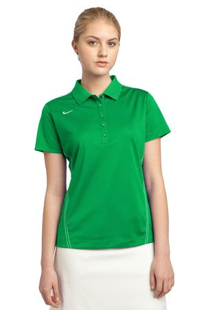 Nike Golf Ladies Dri-FIT Sport Swoosh Pique Polo Style 452885 Lucky Green