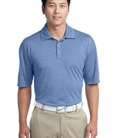 Nike Golf 474231 Heather Polo Light Game Royal Heather