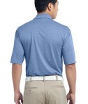 Nike Golf 474231 Heather Polo Light Game Royal Heather Back