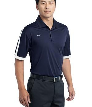 Nike Golf Dri-FIT N98 Polo Style 474237 Dark Navy White Angle