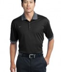 Nike Golf Dri-FIT N98 Polo Style 474237 Black Cool Grey