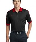 Nike Golf Dri-FIT N98 Polo Style 474237 Black Varsity Red