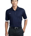 Nike Golf Dri-FIT N98 Polo Style 474237 Dark Navy White