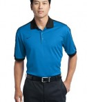 Nike Golf Dri-FIT N98 Polo Style 474237 Signal Blue Black