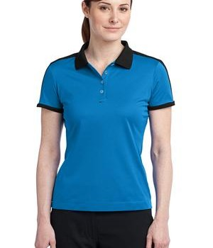 Nike Golf Ladies Dri-FIT N98 Polo Style 474238 Signal Blue/Black