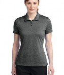 Nike Golf Ladies Dri-FIT Heather Polo Style 474455 Black Heather