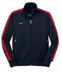 Nike Golf - N98 Track Jacket Style 483550 Navy Flat Front