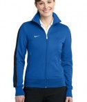 Nike Golf 483773 Ladies n98 Track Jacket Varsity Royal Black