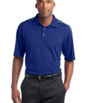 Nike Golf Dri-FIT Graphic Polo Style 527807 Rush Blue Mean Green