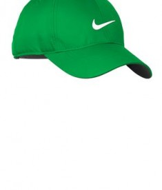 Nike Golf 548533 Swoosh Front Cap Lucky Green