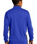 Nike Golf Dri-FIT 1/2-Zip Cover-Up Style 578673 Royal Back
