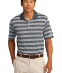 Nike Golf Dri-FIT Tech Stripe Polo Style 578677 Dark Grey