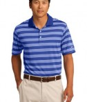 Nike Golf Dri-FIT Tech Stripe Polo Style 578677 Royal