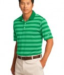 Nike Golf Dri-FIT Tech Stripe Polo Style 578677 Lucky Green Angle