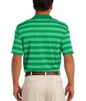 Nike Golf Dri-FIT Tech Stripe Polo Style 578677 Lucky Green Back