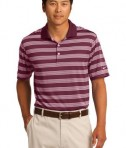 Nike Golf Dri-FIT Tech Stripe Polo Style 578677 Team Red