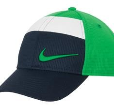 Nike Golf Dri-FIT All-Over Mesh Cap Style 578680 Lucky Green Dark Navy
