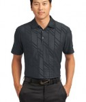 Nike Golf Dri-FIT Embossed Polo Style 632412 Black