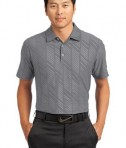 Nike Golf Dri-FIT Embossed Polo Style 632412 Dark Grey