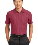 Nike Golf Dri-FIT Embossed Polo Style 632412 Team Red