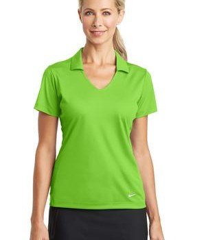 Nike Golf Ladies Dri-FIT Vertical Mesh Polo Style 637165 1
