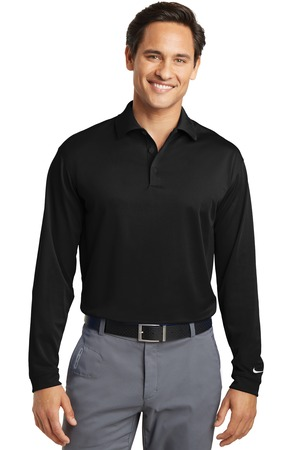 Nike Golf Long Sleeve Dri-FIT Stretch Tech Polo Style 466364