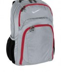 Nike Golf Performance Backpack Style TG0243 Worf Grey/Gym Red