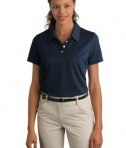 Ladies Nike Sphere Dry Diamond Polo Style 358890 Navy