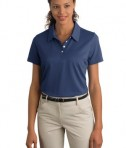 Ladies Nike Sphere Dry Diamond Polo Style 358890 Pro Blue