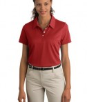 Ladies Nike Sphere Dry Diamond Polo Style 358890 Varsity Red