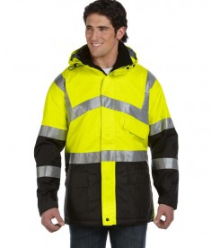 OccuNomix Insulated Cold Weather Parka Yellow
