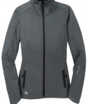 OGIO LOE720 Endurance Crux Soft Shell Jacket Gear Grey Flat