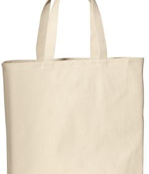 Port & Company B050 Convention Tote Natural