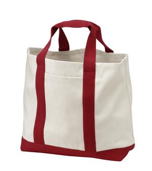 Port & Company - 2-Tone Shopping Tote Style B400