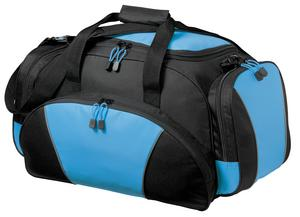 Port & Company BG91 Metro Duffel Light Blue